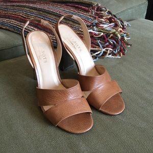 Brown Talbots City Sandals